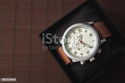 istock Male Wristwatch 862529464