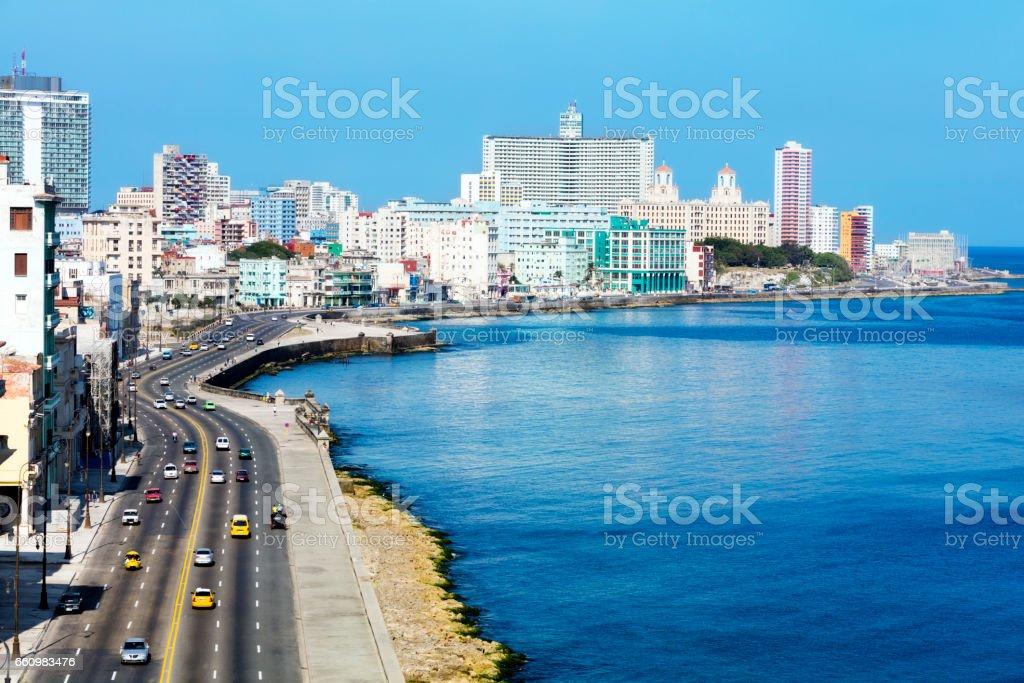 Malecon, Havanna, Kuba – Foto