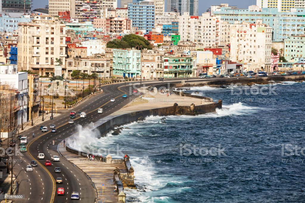 Malecon, Havana, Cuba stock photo