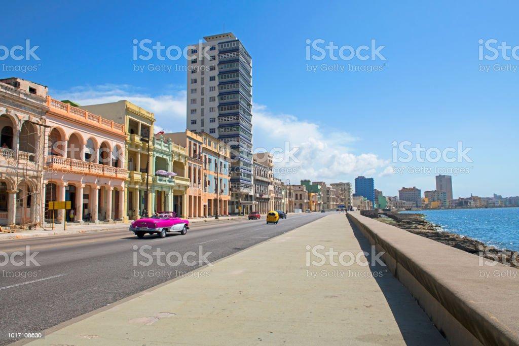 Malecon, Havana stock photo