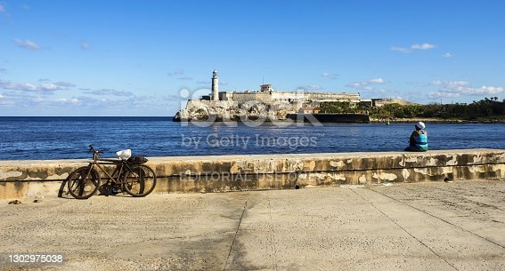 istock Malecon Promenade and Morro Castle in Havana 1302975038