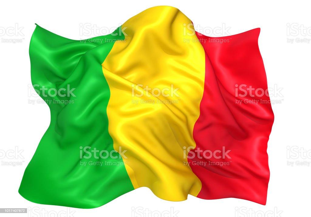 Bandeira de Mali - foto de acervo