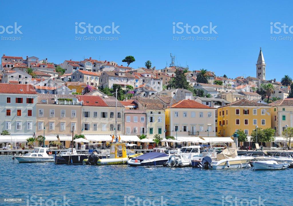 Mali Losinj,adriatic Sea,Croatia stock photo