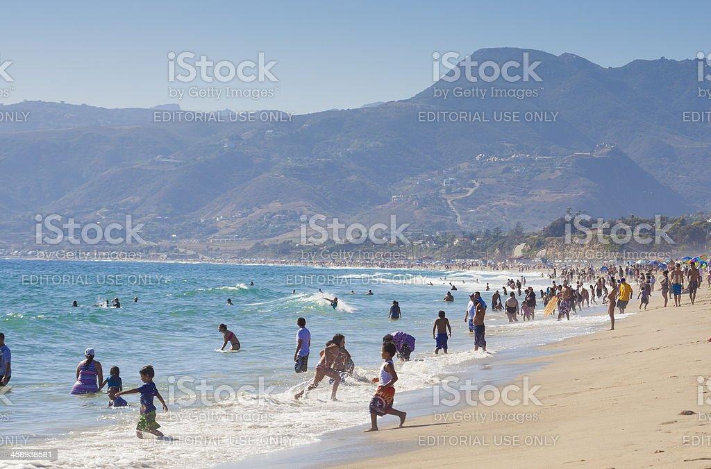 Malibu CA stock photo