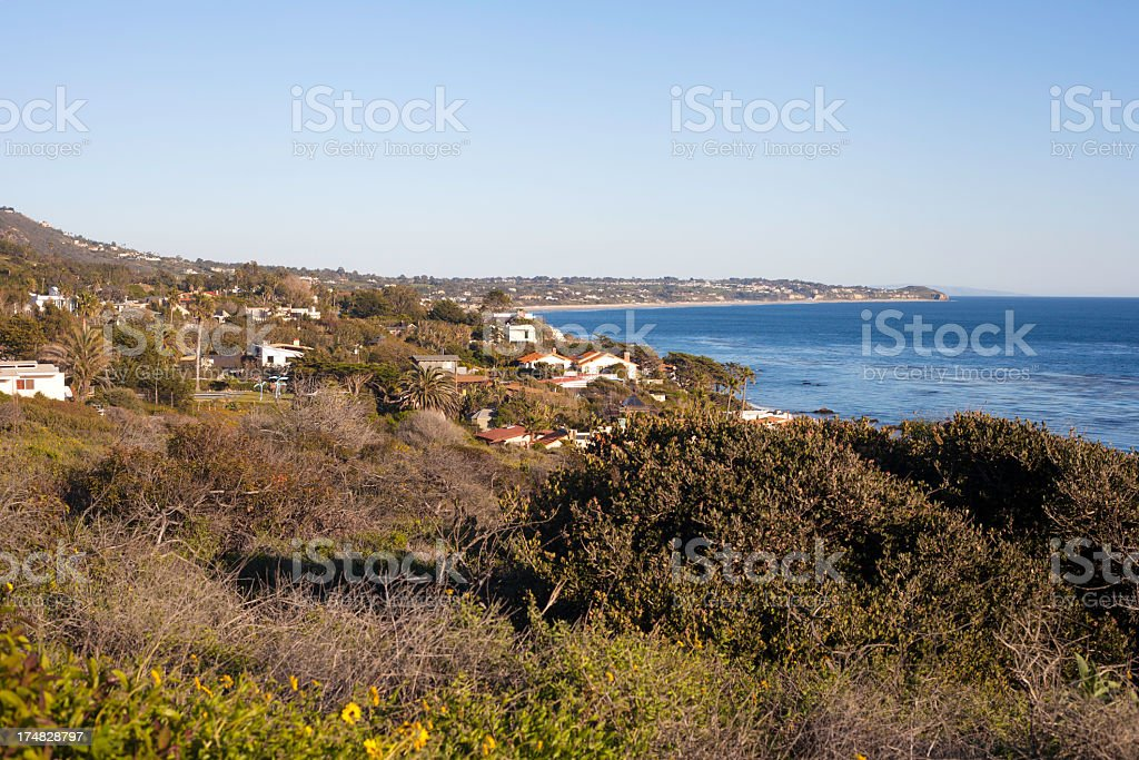 Malibu, California royalty-free stock photo