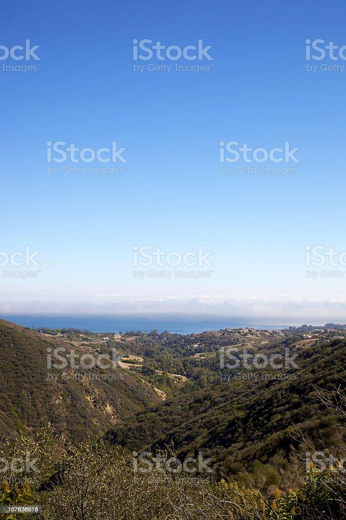 Malibu Canyon California stock photo