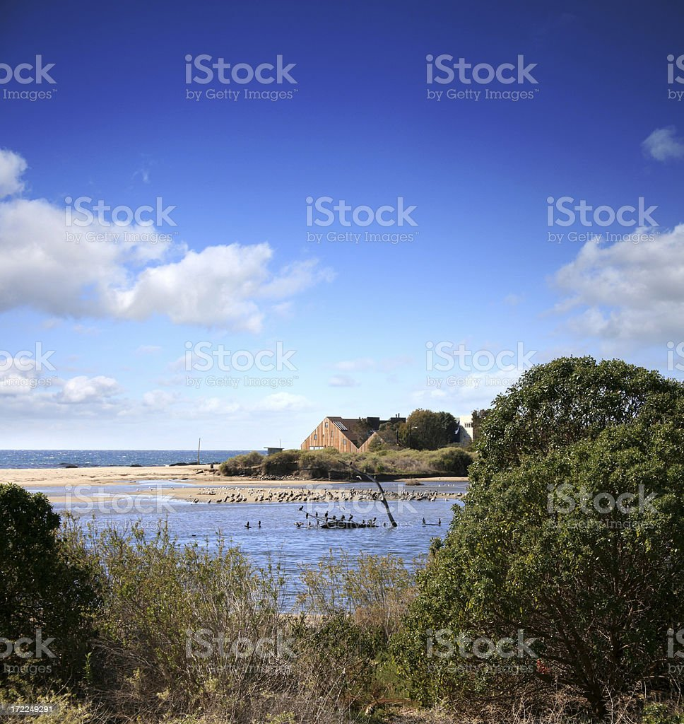 Malibu Nature Reserve royalty-free stock photo