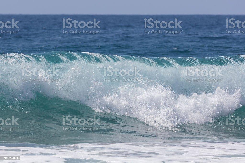 Malibu Wave stock photo