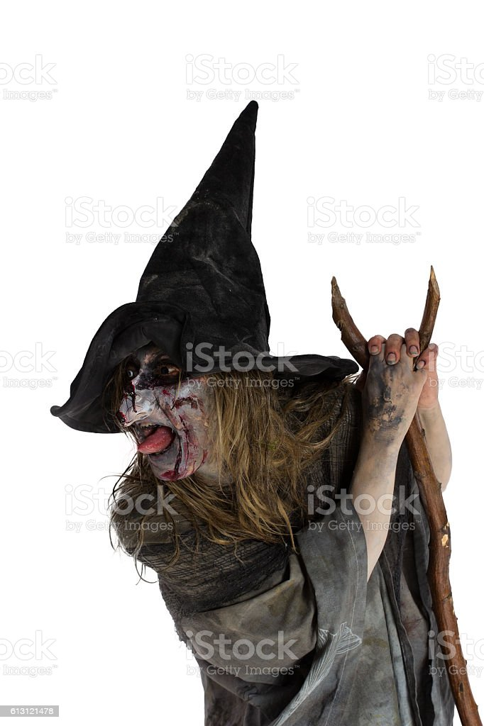 Malicious Witch - foto de stock