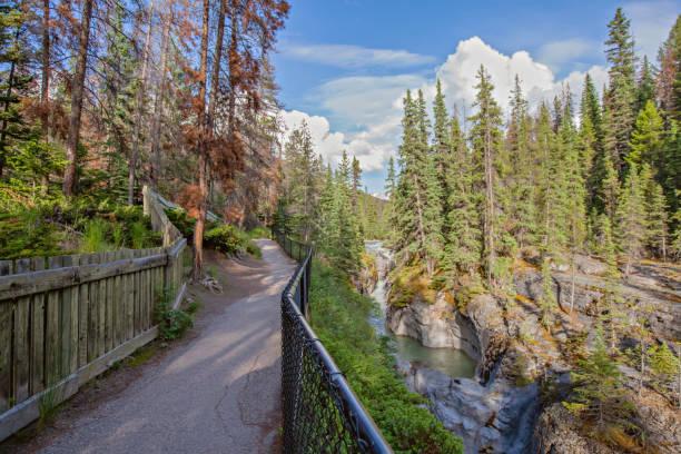 Malignant Canyon Trail stock photo