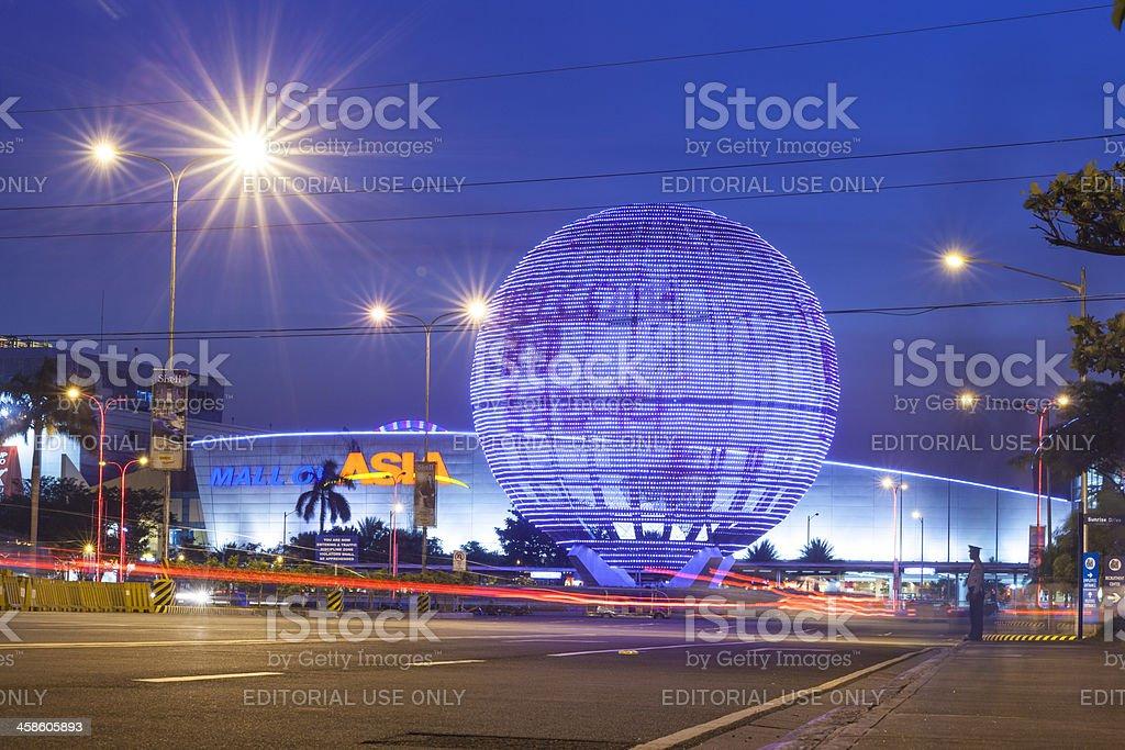 SM Mall of Asia in Passay City Metro Manila royalty-free stock photo