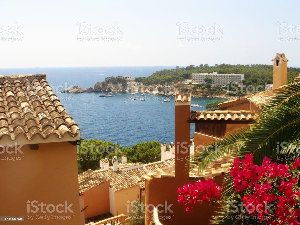 Mallorca View royalty-free stock photo