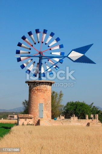 istock Mallorca windmill 177321595
