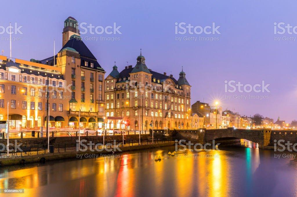 Malmo Cityscape Sweden stock photo