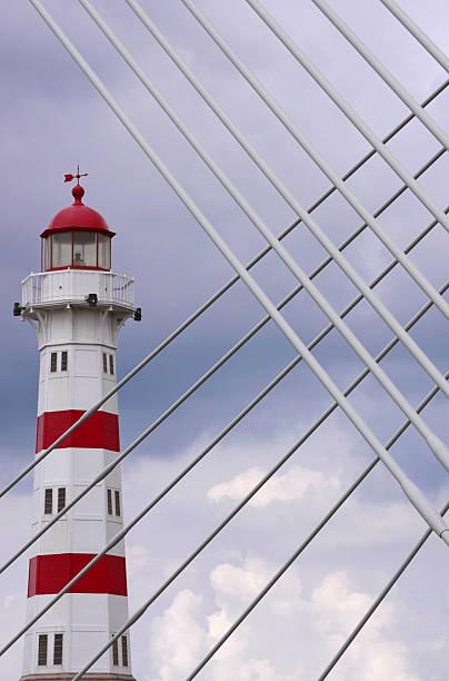 Malmo lighthouse stock photo