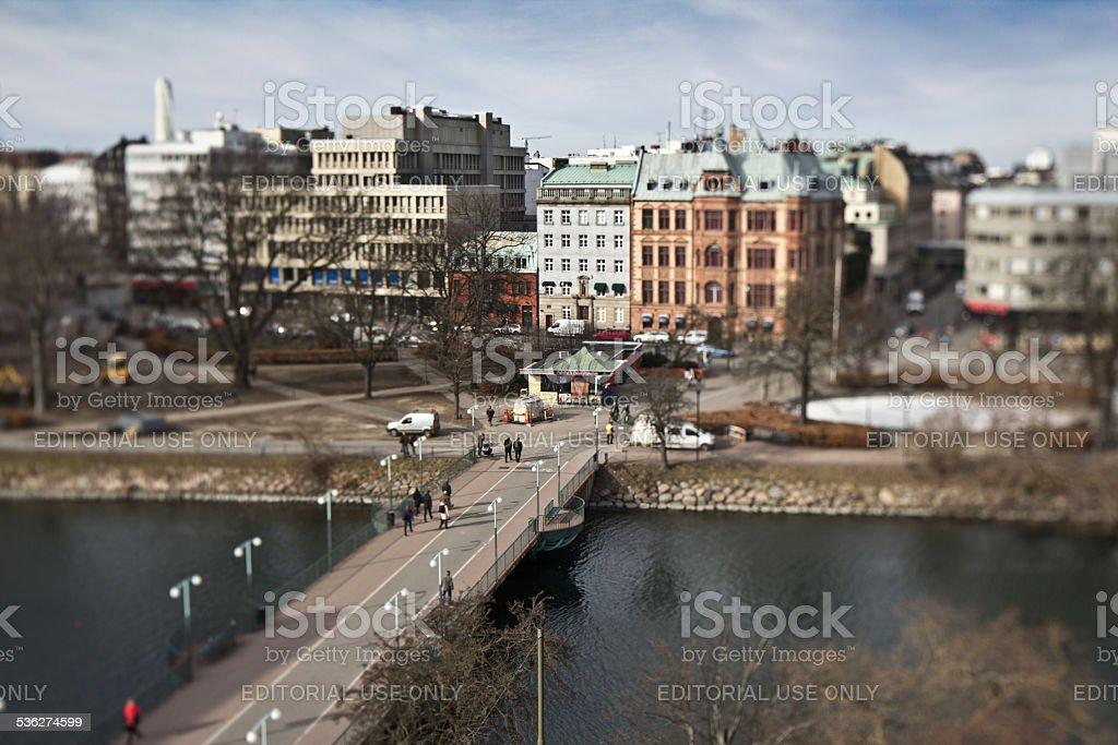 Malmoe_cityscape stock photo