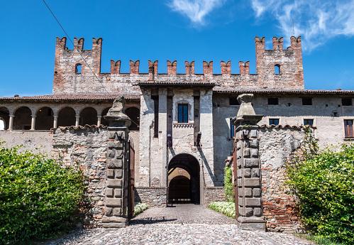 Malpaga castle of twelfth century