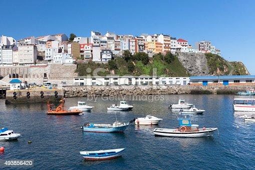 Port of Malpica de Bergantiños, A Coruña, Galicia.