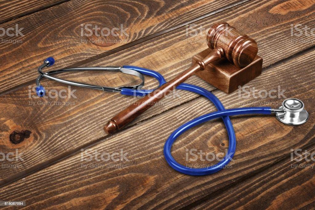Malpractice. stock photo