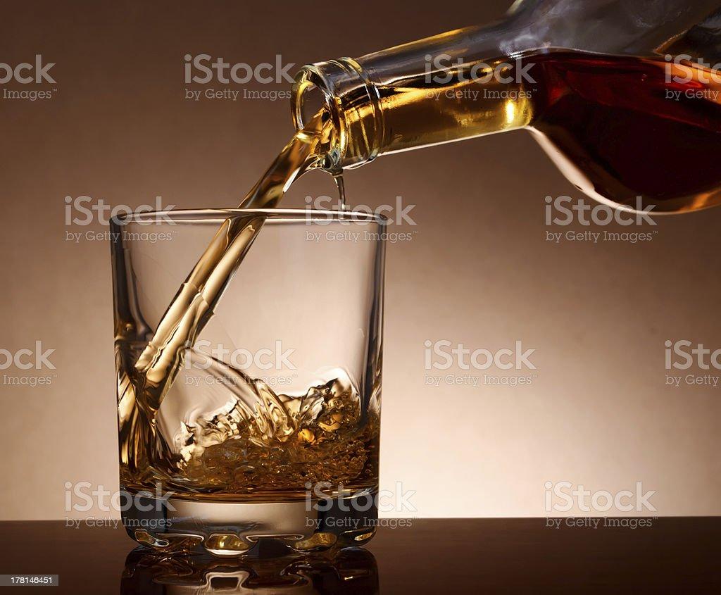 Malt whisky stock photo
