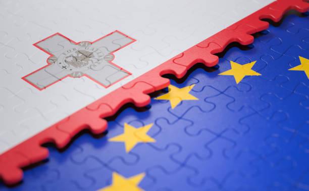Malta EU-Puzzle-Flagge – Foto
