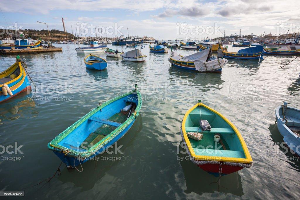Malta, Marsaxlokk foto de stock royalty-free