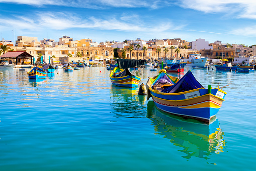 Malta - Mediterranean travel destination, Marsaxlokk Fishing Village