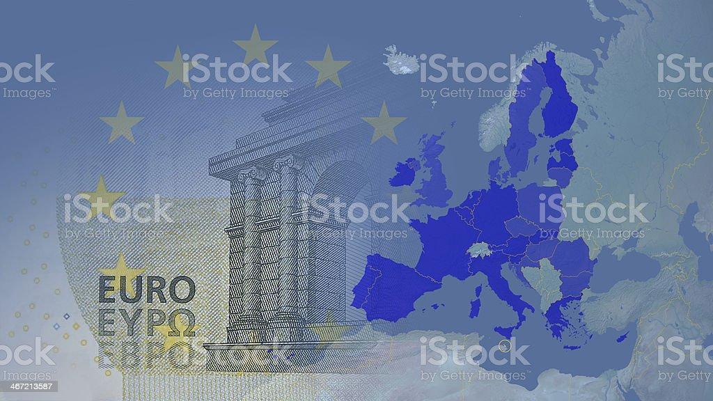 Malta member Eurozone since 2008 16:9 stock photo