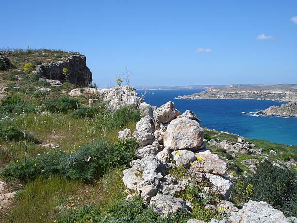 Malta mit Blick auf das Meer – Foto