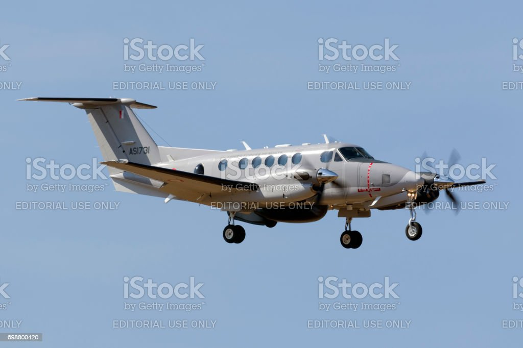 Maltese Armed Forces`s latest Kingair stock photo