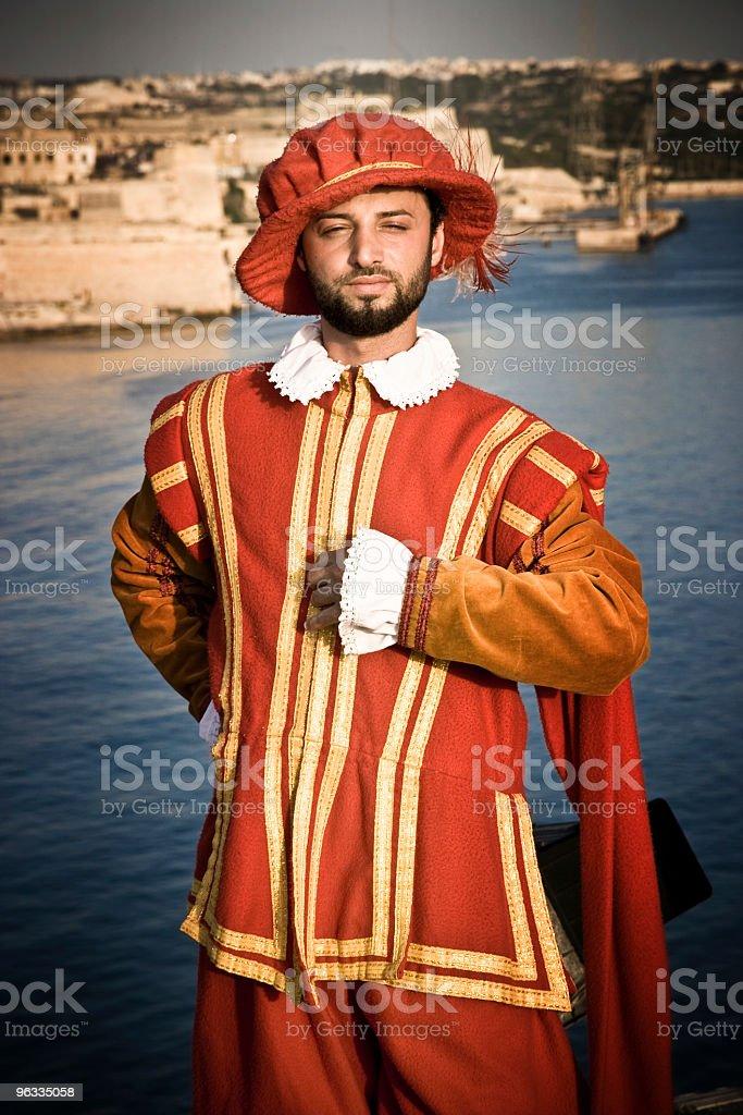Maltese knight stock photo