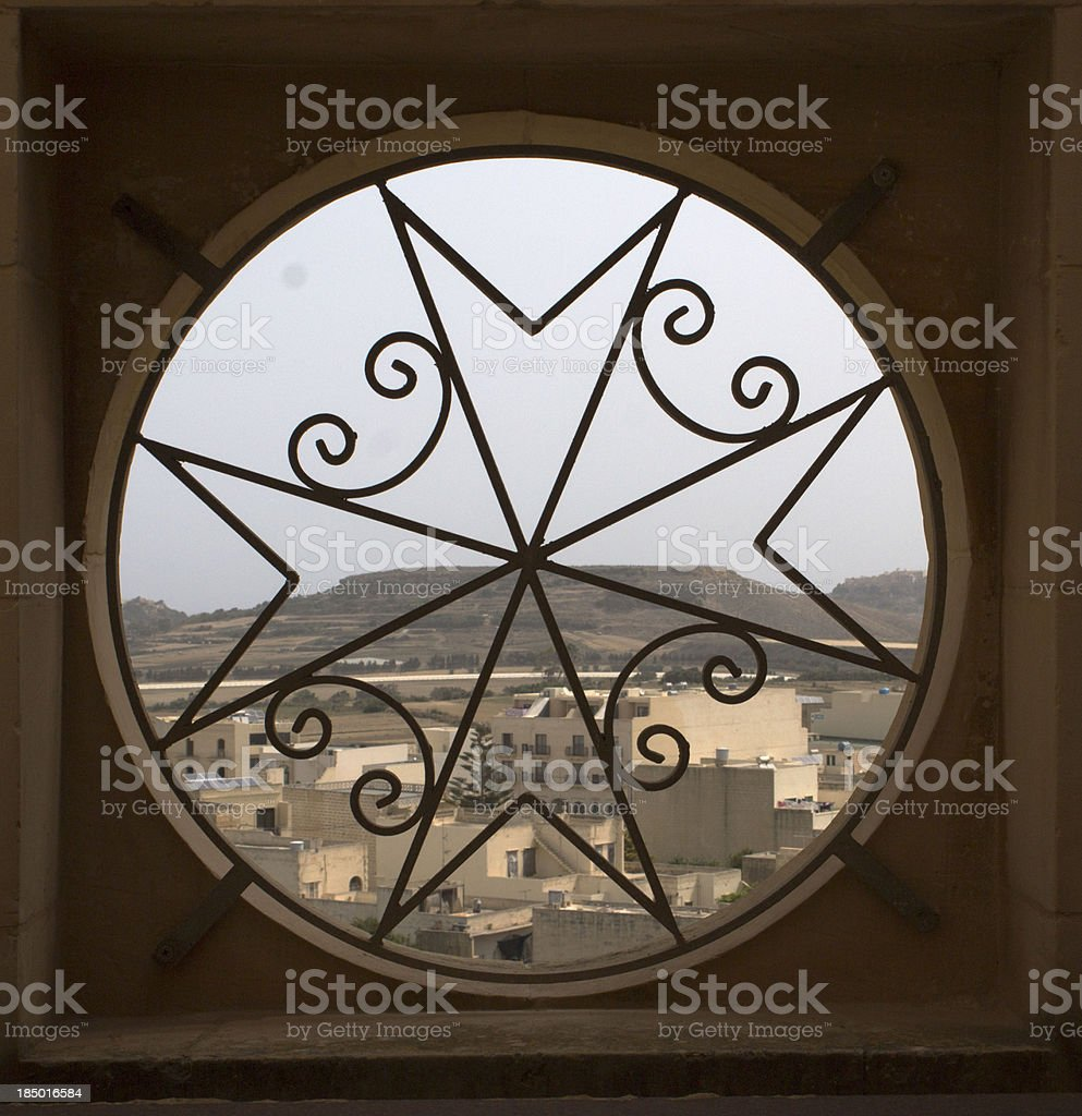 Maltese view stock photo
