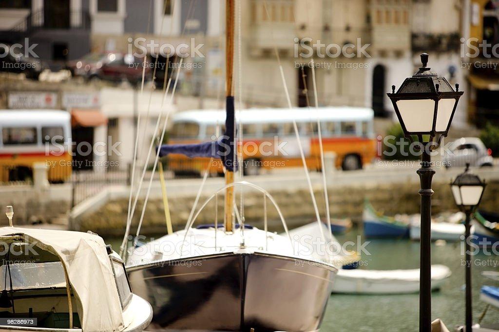 Maltese View royalty-free stock photo