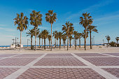 istock Malvarrosa beach in Valencia,Spain 1135709566