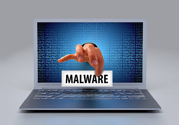 malware scanner ransomware virus - logiciel espion photos et images de collection