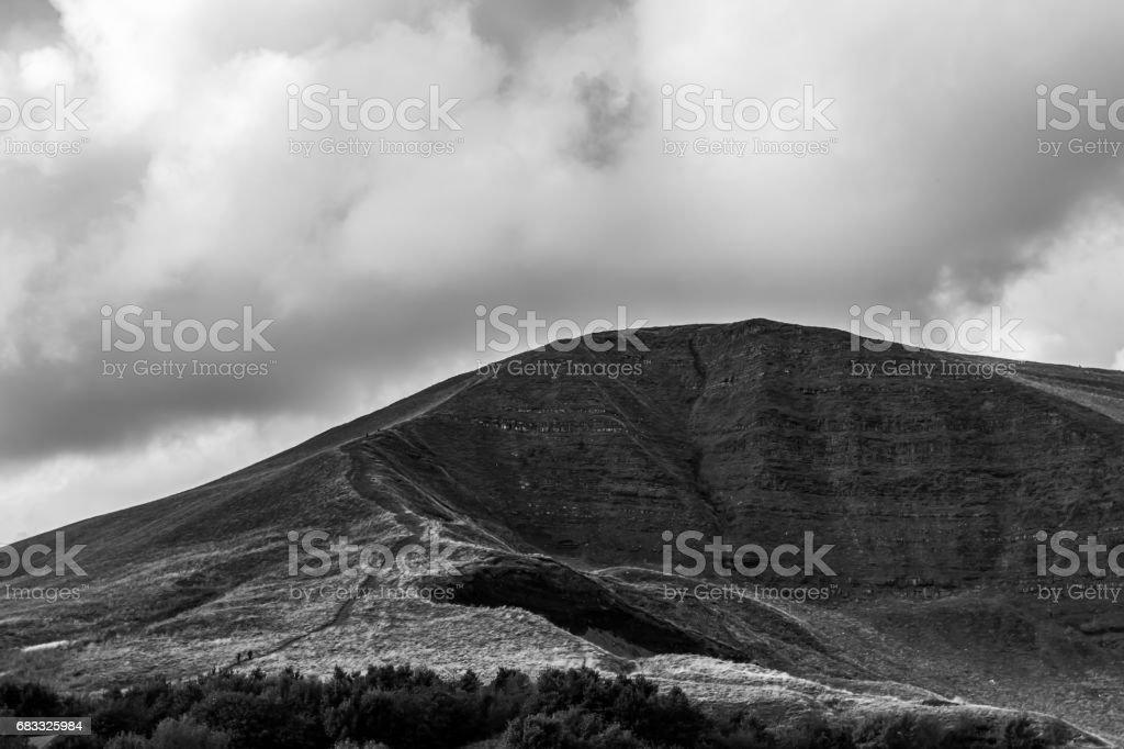 Mam Tor, Peak District, UK royalty-free stock photo