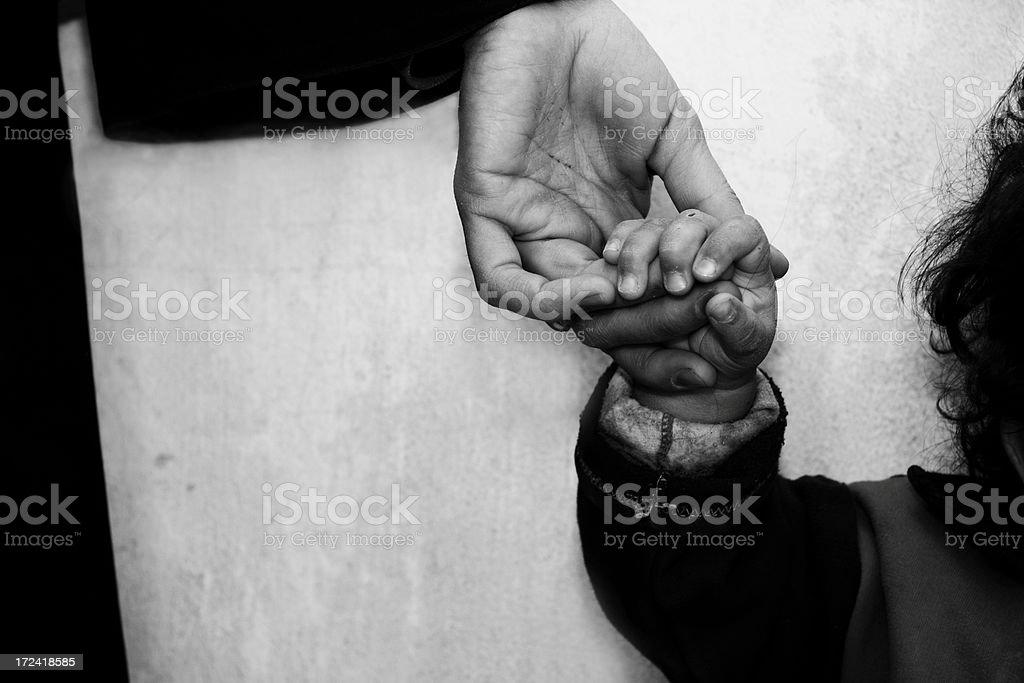 mama's hand2 royalty-free stock photo