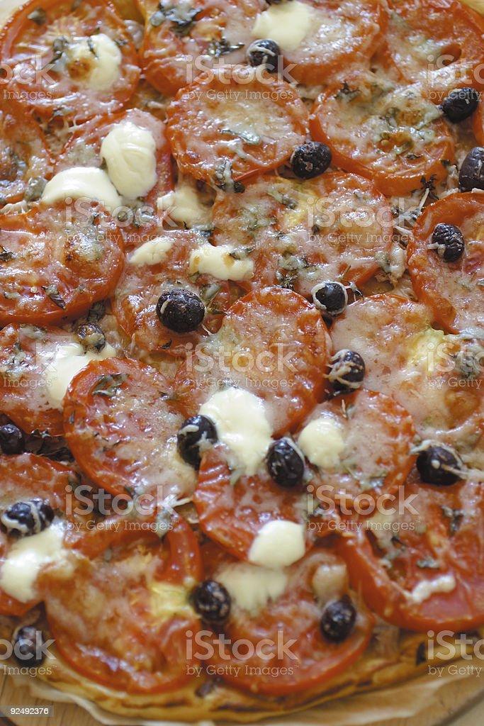 mamma mia que pizzaaaaah! royalty-free stock photo