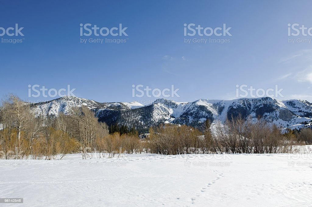 Mammoth Lakes HDR royalty-free stock photo