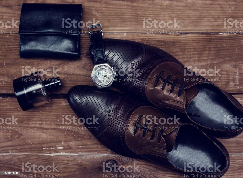 Accesorios De Hombre En Estilo De Negocios Ropa Gadgets