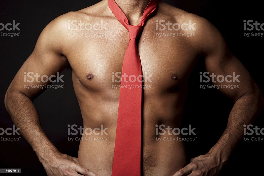Man After Work stock photo