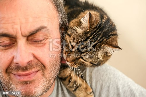 Man and Cat Love - Real Love
