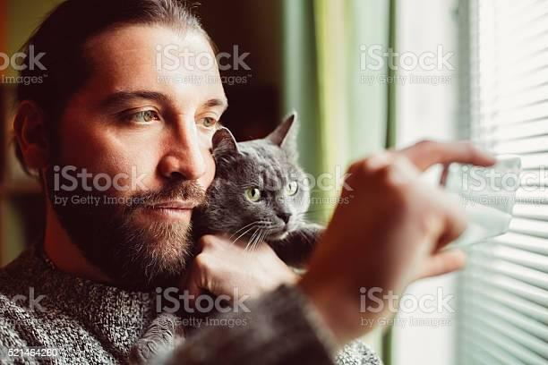 Man and cat taking selfie picture id521464260?b=1&k=6&m=521464260&s=612x612&h=vc5xdi8kihltuzltpjjexks1xhocejkqhfv5z vm5ry=