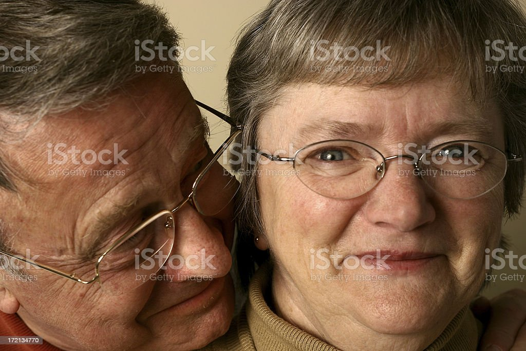 Man and Wife royalty-free stock photo