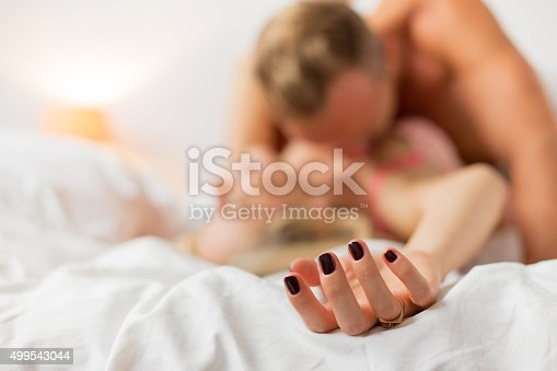 istock Man and woman having sex 499543044