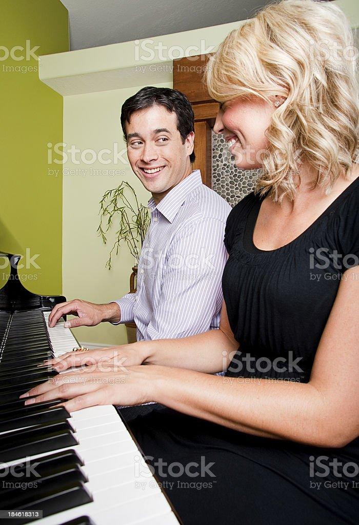Couple Playing a Piano - Shot at Utahlypse 2011