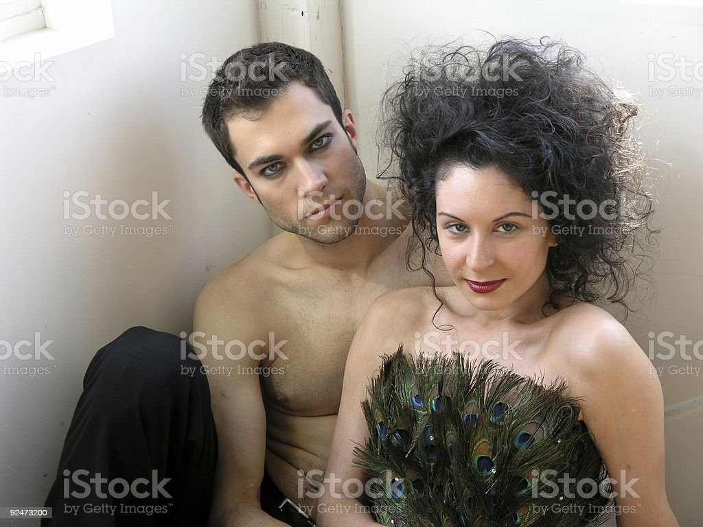 Man and woman-10 royalty-free stock photo