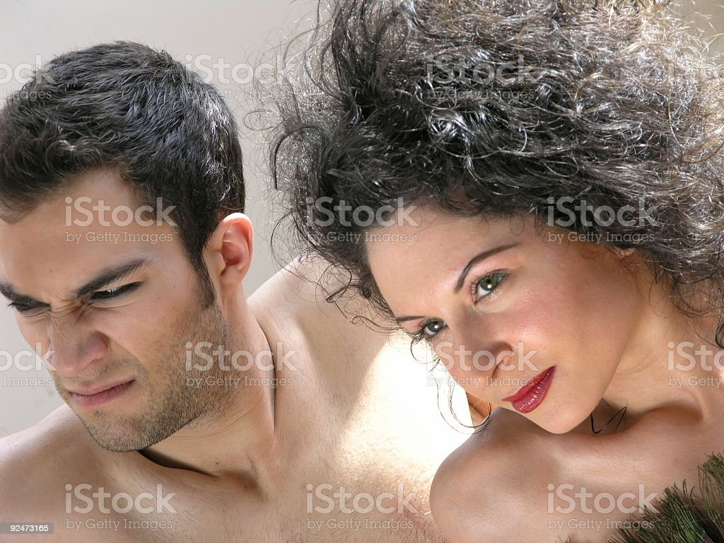 Man and woman-3 royalty-free stock photo