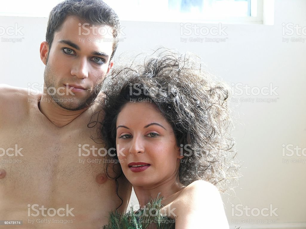 Man and woman-7 royalty-free stock photo