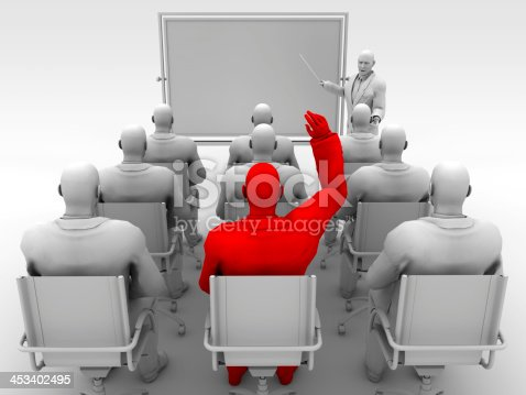 istock Man asking the question 453402495